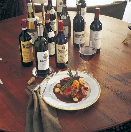 Dining Room at Trapp Family Lodge: Wine & Food