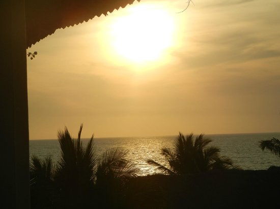 Grand Velas Riviera Nayarit:                   Sunset View from Room