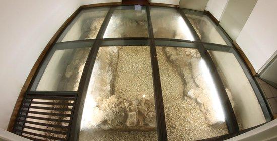 Hostal Casco Antiguo: Restos arqueológicos