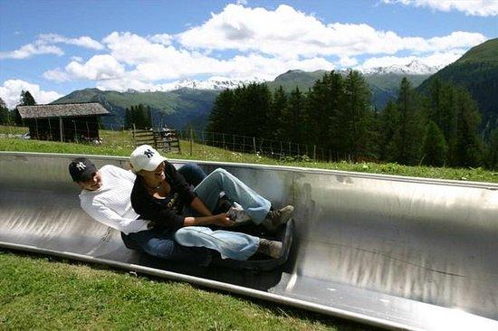 Toboggan Run  - Schatzalp : Sommer-Schlittelbahn Schatzalp