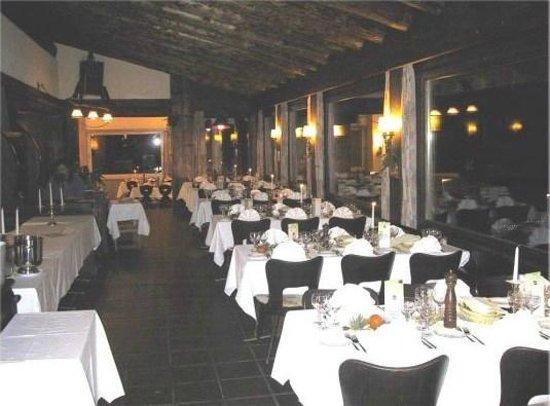 Panorama Restaurant Schatzalp: Restaurant Panorama Innen