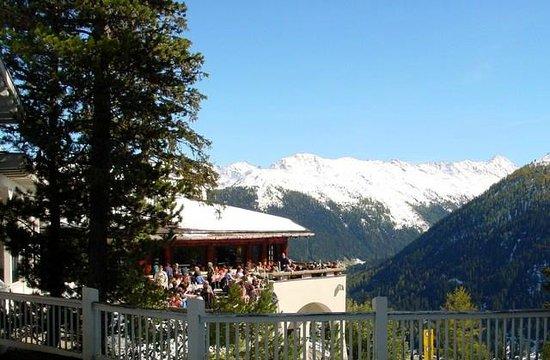 Panorama Restaurant Schatzalp: Panorama-Restaurant Aussenansicht