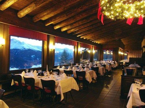 Panorama Restaurant Schatzalp: Restaurant Panorama Weihnachtszeit