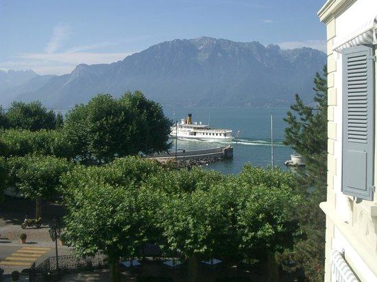 Grand Hotel du Lac: Aussicht aus dem Zimmer
