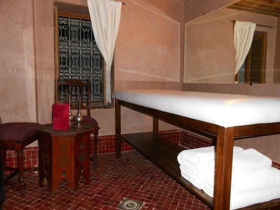 Riad Fez Yamanda: Salle massage