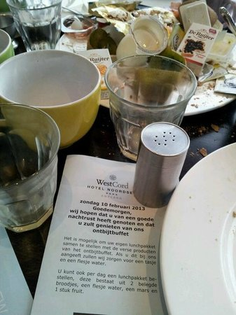 WestCord Hotel Noordsee:                   Een volledig ontbijt