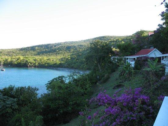 Ti Kaye Resort & Spa :                   View from our room (Gwiyen) at Ti Kaye Village.