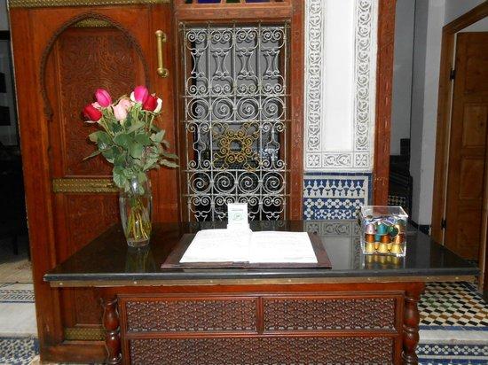 Riad Fez Yamanda: Guest book