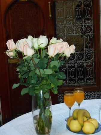 Riad Fez Yamanda: Salle à manger