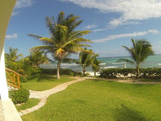 Las Villas Akumal:                   View from room