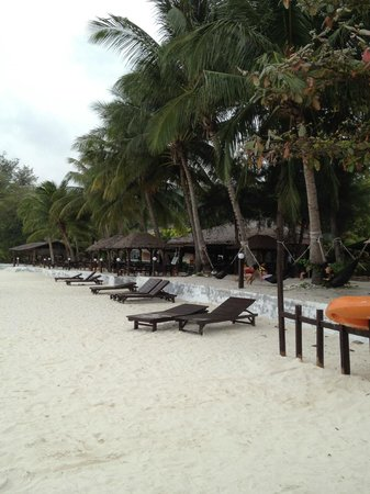 Coral Redang Island Resort:                   beach front