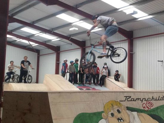 360 Indoor Skate Park:                   bmx, skate boarders and scooters