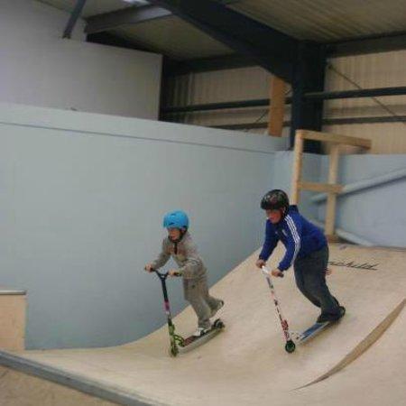 360 Indoor Skate Park:                   novice area