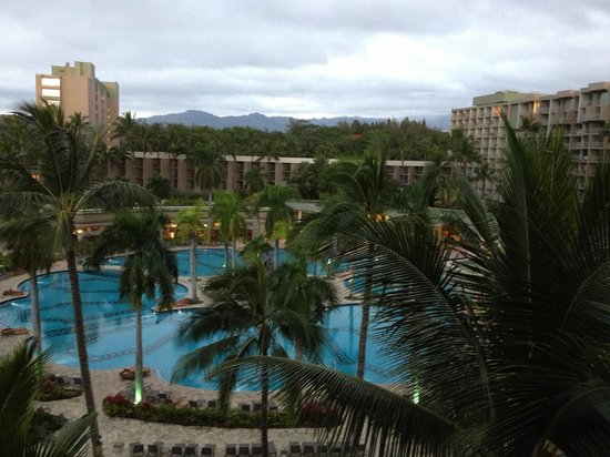 Kaua'i Marriott Resort:                   Pool at Marriott