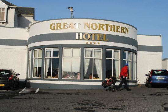 Great Northern Hotel:                   Front of Hotel - Exterior