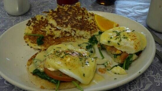 Grandma Zula's Kitchen:                   Garden Benedict  Not only does it look good, it taste wonderful.