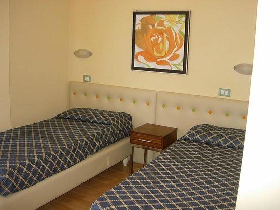 Savoy Hotel: twin Standard room