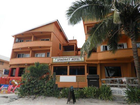 Spindrift Resort Hotel:                   Spindrift Hotel (beach side)