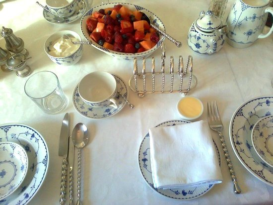 Victoria Cottage B & B: Breakfast