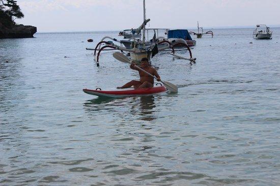 Hai Tide Beach Resort:                   Каяк