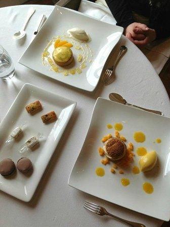 Puddings at Saisons