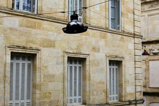 Hotel l'Avant-Scene : Vue de la chambre 4.