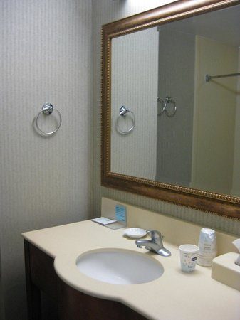 Hampton Inn Winter Haven:                   Bottled shampoo, conditioner and moisurizer