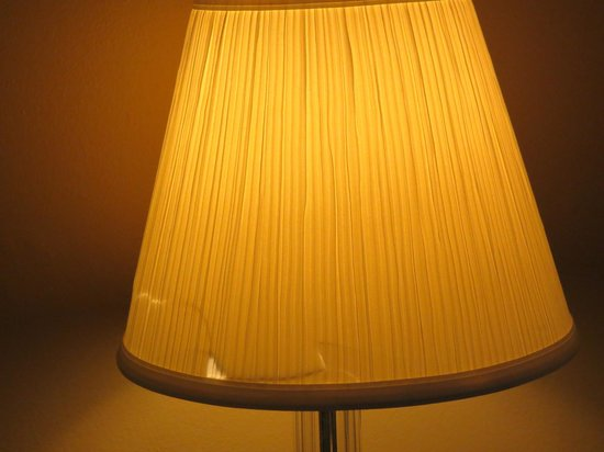 Days Inn Lafayette/Airport:                   Torn lamp shade.