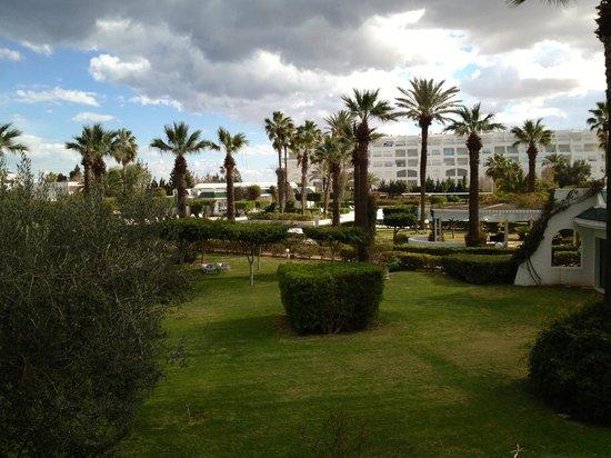 Hasdrubal Thalassa Hotel & Spa Port El Kantaoui:                                     Parc