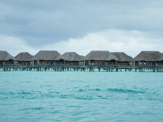 Four Seasons Resort Bora Bora:                   bungalows