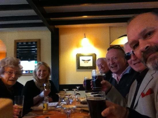 The Bear and Ragged Staff:                   happy birthday mum.