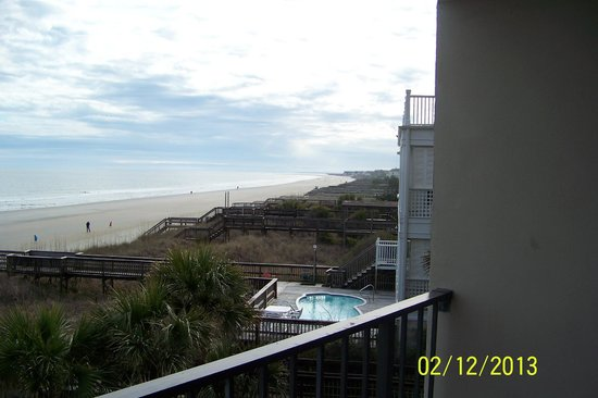 Oceanfront Litchfield Inn:                   From the balcony