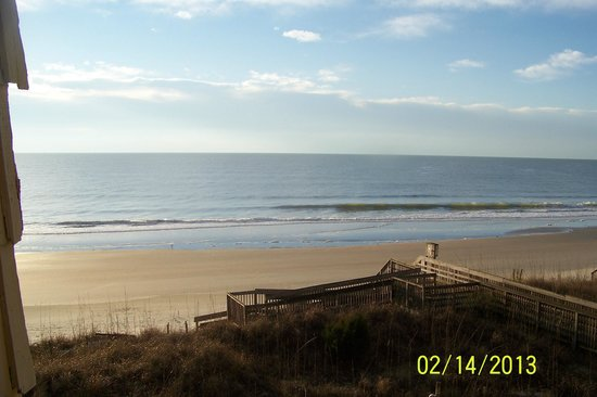 Oceanfront Litchfield Inn:                   Sunrise