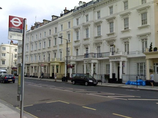 Luna & Simone Hotel:                   Vista del hotel