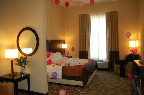 Comfort Inn & Suites Lexington Park: Bridal Suite