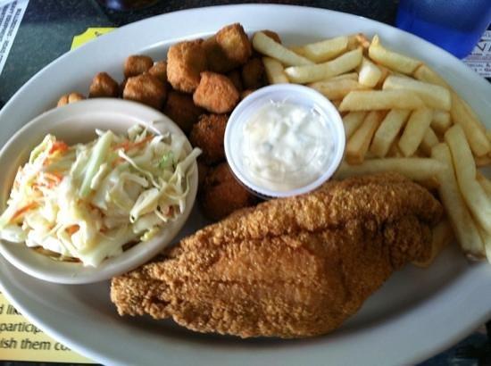 Lindig's : half order of catfish!
