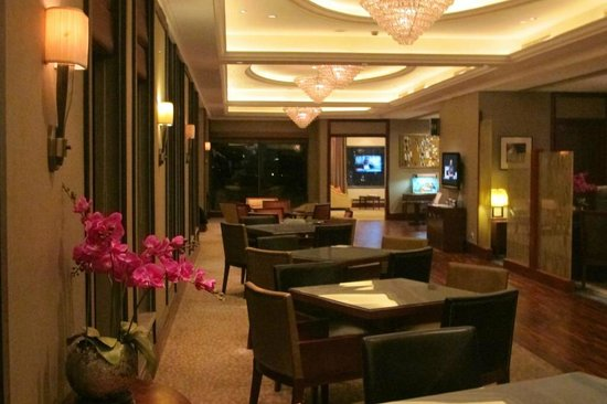 Crowne Plaza Century Park Shanghai: club lounge