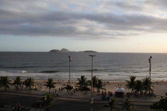 Hotel Fasano Rio de Janeiro: View from our 4th floor balcony room