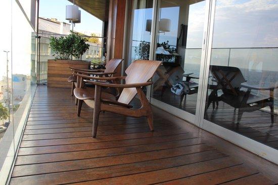 Hotel Fasano Rio de Janeiro: Deck Outside our Room
