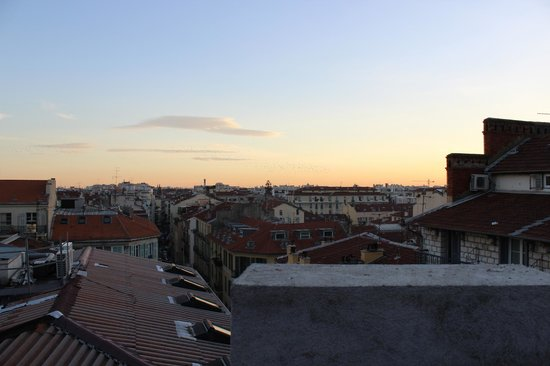 Hotel Trocadero:                   view