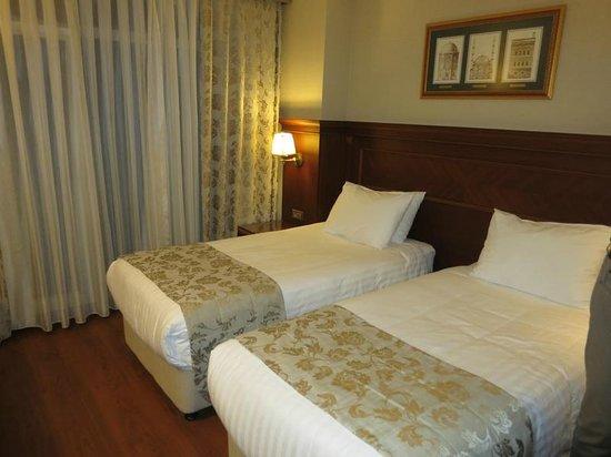 Hotel Perula: LA CHAMBRE