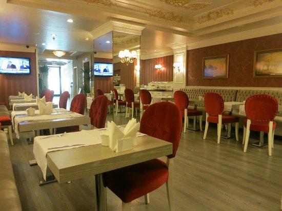 Hotel Perula: SALLE PETIT DEJ