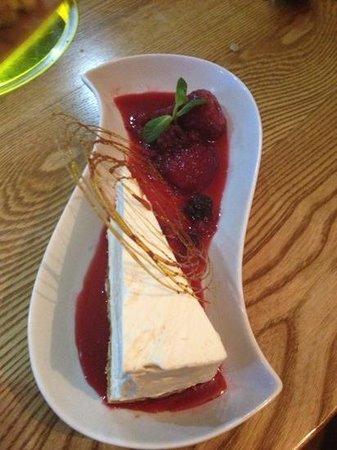 Plough & Harrow:                                                       cheese cake