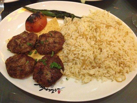 Istanbul Flower Restaurant:                   Kofta