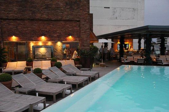 Hotel Fasano Rio de Janeiro: <3 the pool staff and scene