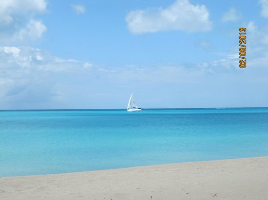 Barbuda Cottages:                   Ocean at Low Bay