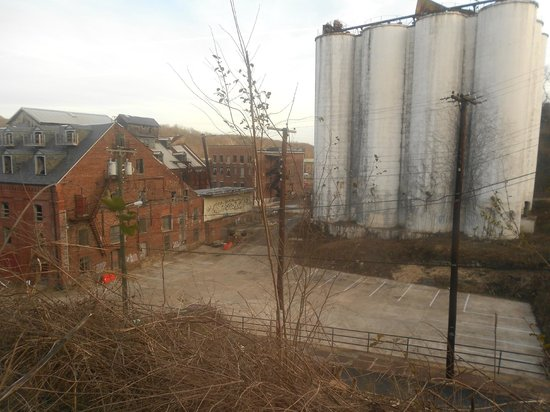 Craddock Terry Hotel:                   View from our window (side of the building) but I understand this is going to
