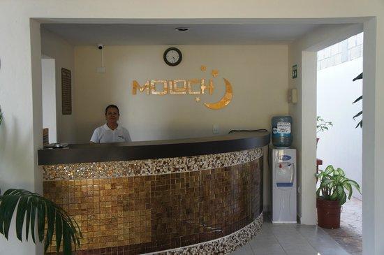 Moloch Hostel y Suites: Recepcion