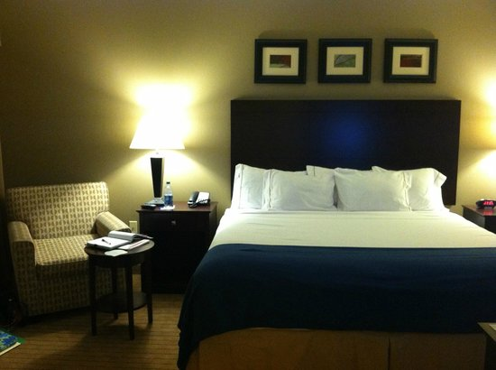 Holiday Inn Express Hotel & Suites Malone:                   King Bedroom