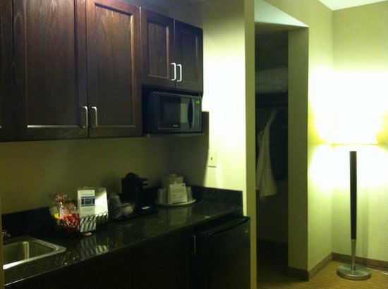 Holiday Inn Express Hotel & Suites Malone:                   Suite Area Room 410